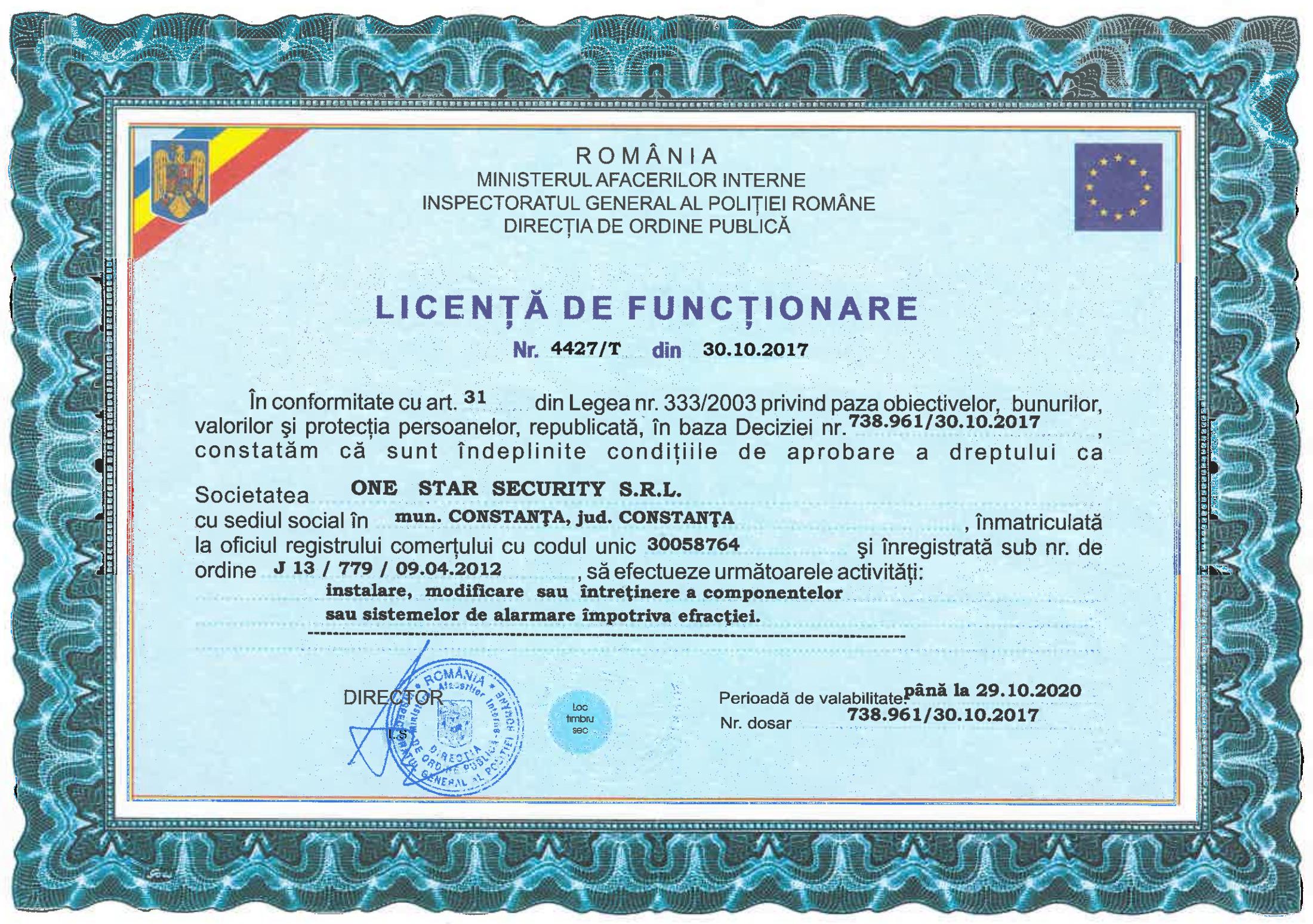 licenta_functionare